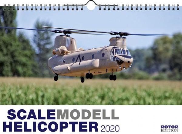 Modellhelikopter Wandkalender Scale