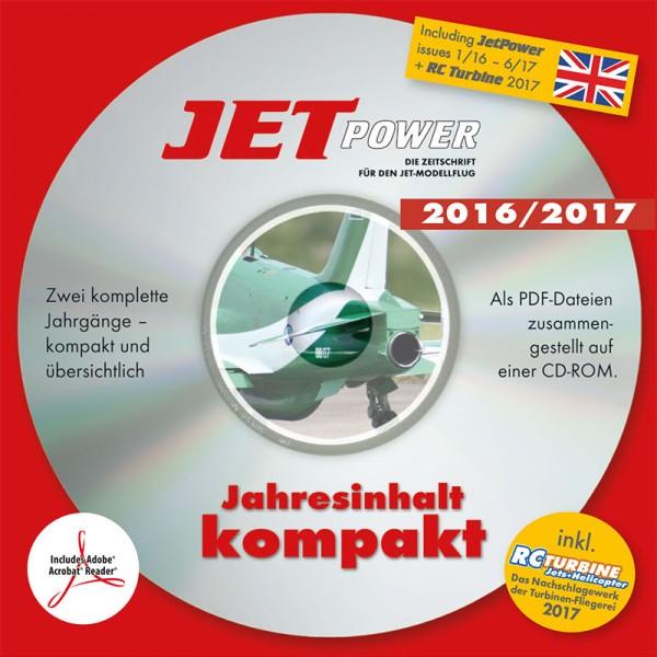 JetPower Jahrgangs-CD 2016-2017