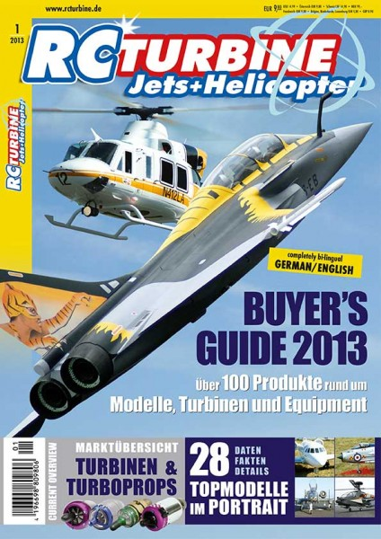 RC TURBINE Jets & Helicopter 2013
