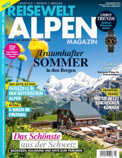 Reisewelt ALPEN Magazin 03/2021