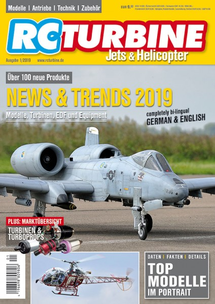 RC TURBINE Jets & Helicopter 2019